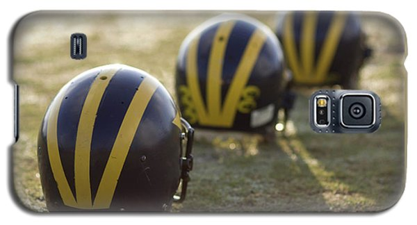 Striped Helmets On A Yard Line Galaxy S5 Case