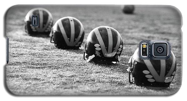 Striped Helmets On The Field Galaxy S5 Case
