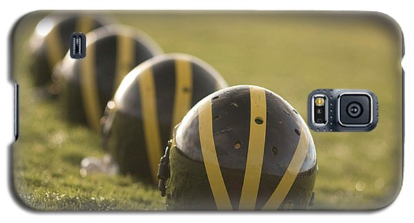Striped Helmets On Yard Line Galaxy S5 Case
