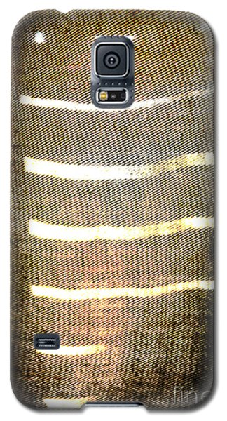Stripes And Texture Galaxy S5 Case