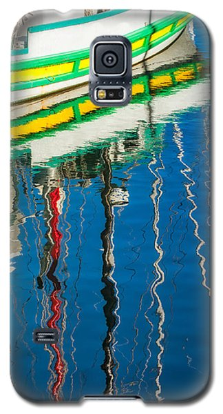 Stripes  Galaxy S5 Case by Joan Herwig