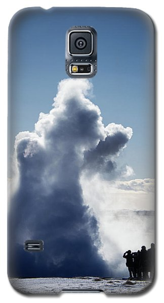 Galaxy S5 Case featuring the photograph Strokkur Geyser In Iceland by Matthias Hauser