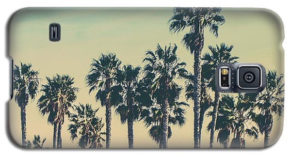 Venice Beach Galaxy S5 Case - Stroll Down Venice Beach by Az Jackson