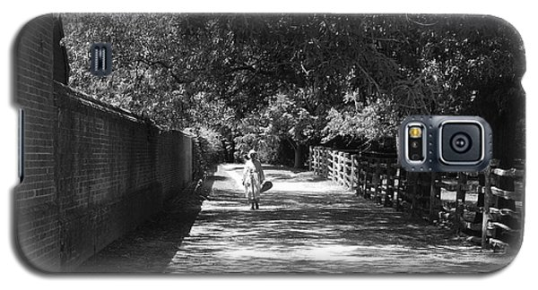 Galaxy S5 Case featuring the photograph Stroll To Store by Eric Liller