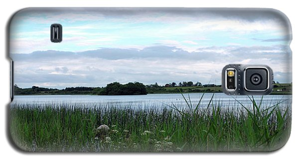 Galaxy S5 Case featuring the photograph Strolling By The Lake by Terence Davis
