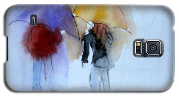 Strolling In The Rain Galaxy S5 Case by Vicki  Housel