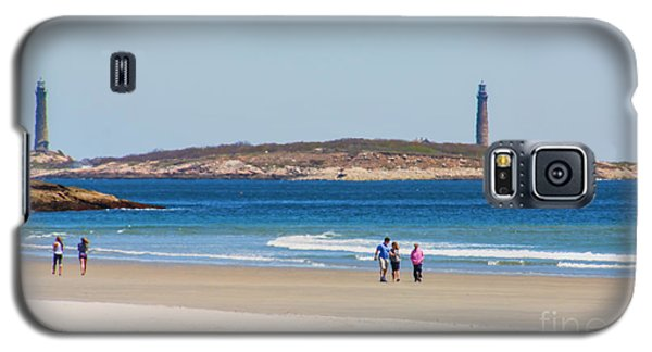 Strolling The Beach Galaxy S5 Case