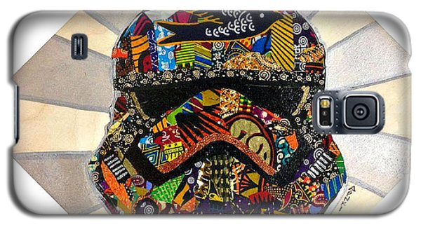 Strom Trooper Afrofuturist  Galaxy S5 Case