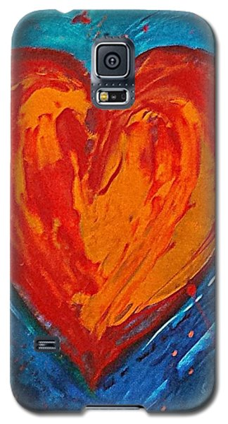 Strong Heart Galaxy S5 Case by Diana Bursztein