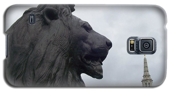 Strong Lion Galaxy S5 Case by Mary Mikawoz
