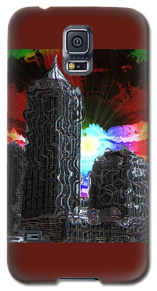 Galaxy S5 Case featuring the photograph Structural Dissonance by Iowan Stone-Flowers
