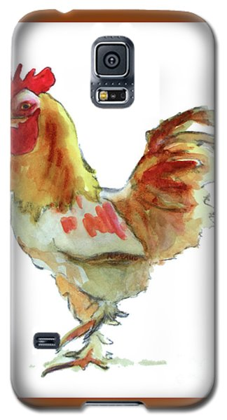 Galaxy S5 Case featuring the painting Strut Your Stuff 4 by Kathy Braud