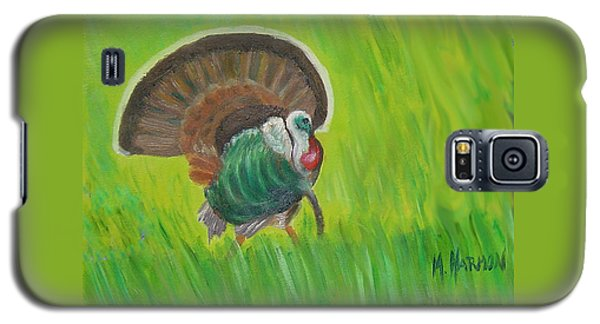 Strutting Turkey In The Grass Galaxy S5 Case