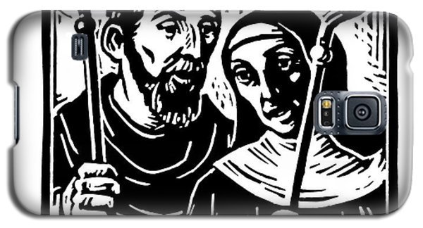 Sts. Benedict And Scholastica - Jlbas Galaxy S5 Case