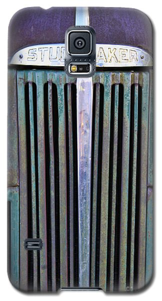 Galaxy S5 Case featuring the photograph 47 Studebaker Pick-up Grill by Richard Lynch