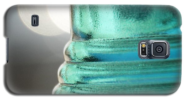 Galaxy S5 Case featuring the photograph Studies In Glass .. Bottle by Lynn England