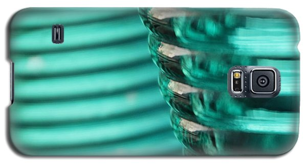 Galaxy S5 Case featuring the photograph Studies In Glass ...bottles by Lynn England
