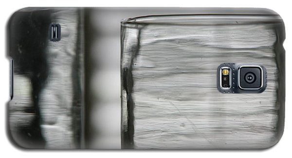 Galaxy S5 Case featuring the photograph Studies In Glass ...shades Of Grey by Lynn England