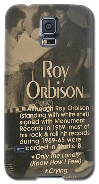 Studio B Roy Orbison  Galaxy S5 Case