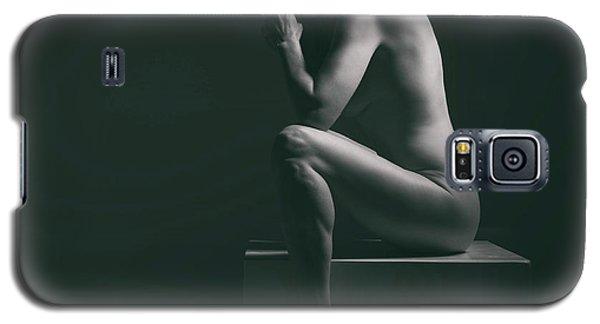Studio Nude Seated Galaxy S5 Case