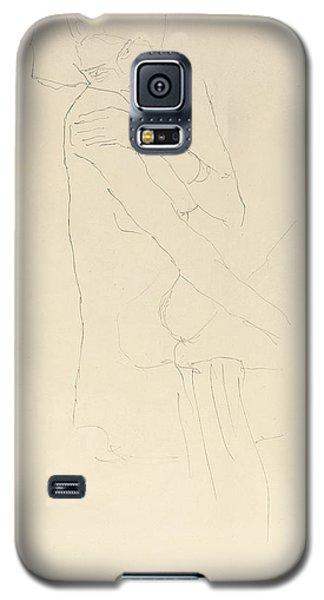 Study For Adele Bloch Bauer II Galaxy S5 Case by Gustav Klimt