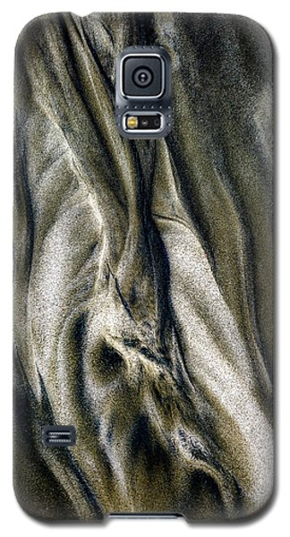 Galaxy S5 Case featuring the photograph Study In Brown Abstract Sands by Rikk Flohr