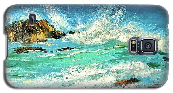 Study Wave Galaxy S5 Case by Dmitry Spiros