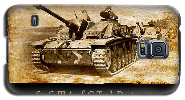 Galaxy S5 Case featuring the digital art Stug IIi Ausf G Tank Destroyer by John Wills