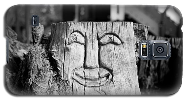 Stump Face 1 Galaxy S5 Case