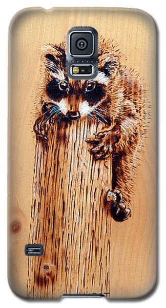 Galaxy S5 Case featuring the pyrography Stumped by Ron Haist