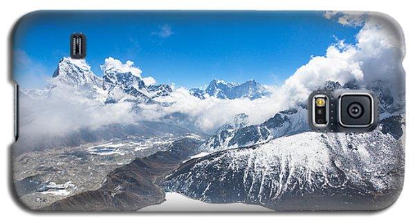 Stunning Panorama Over Gokyo In Nepal Galaxy S5 Case