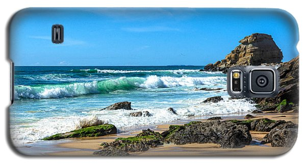 Galaxy S5 Case featuring the photograph Stunning Seascape by Marion McCristall