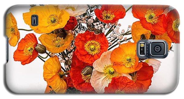Stunning Vibrant Yellow Orange Poppies  Galaxy S5 Case