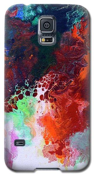 Subtle Vibrations, Canvas Five Of Five Galaxy S5 Case