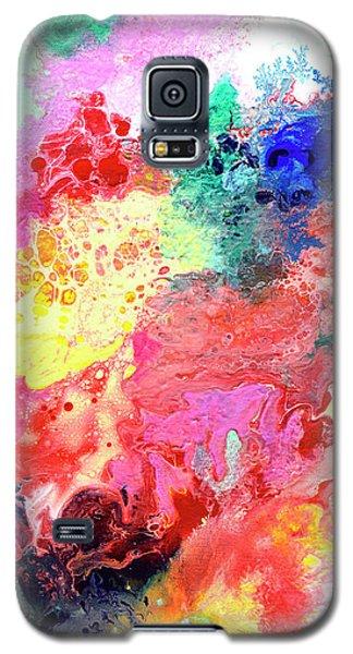 Subtle Vibrations, Canvas Four Of Five Galaxy S5 Case