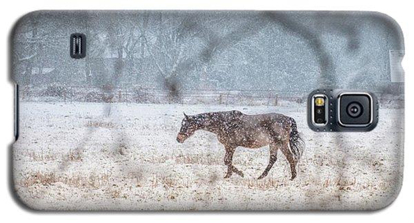 Suburb Of Hamburg.snow Galaxy S5 Case