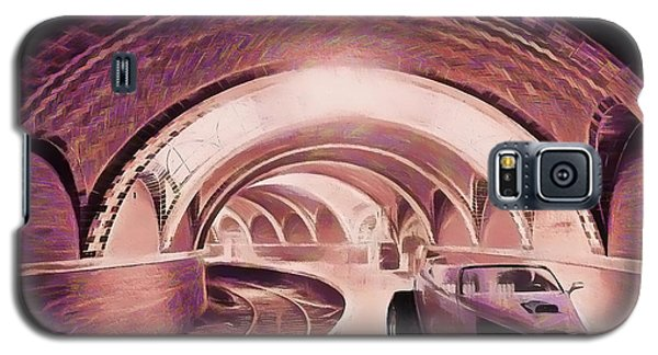 Galaxy S5 Case featuring the photograph Subway Racer by Michael Cleere