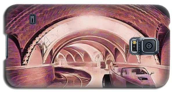 Subway Racer Galaxy S5 Case by Michael Cleere