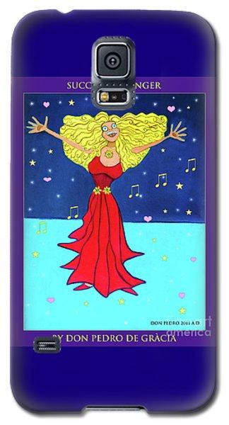 Successful Singer. Galaxy S5 Case by Don Pedro De Gracia