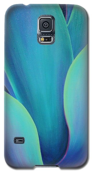 Galaxy S5 Case featuring the painting Succulent Embrace by Sandi Whetzel