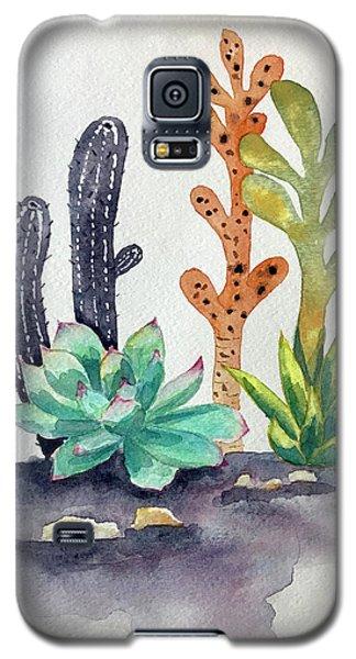 Succulents Desert Galaxy S5 Case