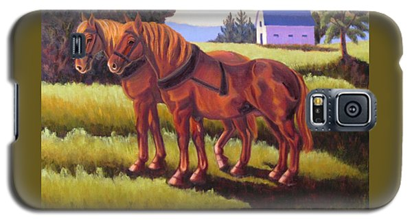Suffolk Punch Day Is Done Galaxy S5 Case