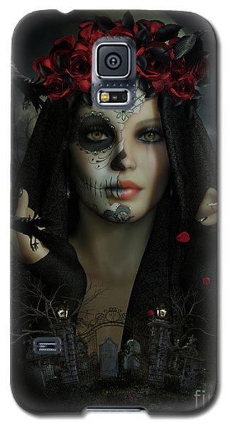 Galaxy S5 Case featuring the digital art Sugar Doll Magic by Shanina Conway