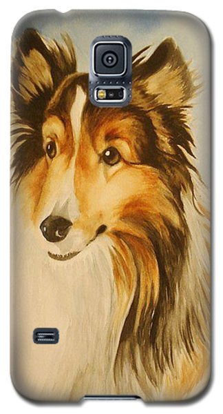 Galaxy S5 Case featuring the painting Sugar by Marilyn Jacobson