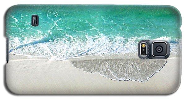Galaxy S5 Case featuring the photograph Sugar Sand Beach by Lizi Beard-Ward