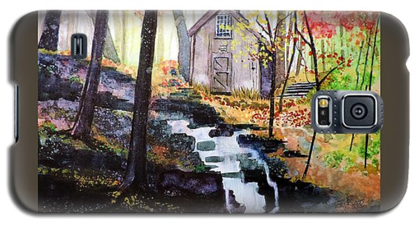 Galaxy S5 Case featuring the painting Sugar Shack by Tom Riggs