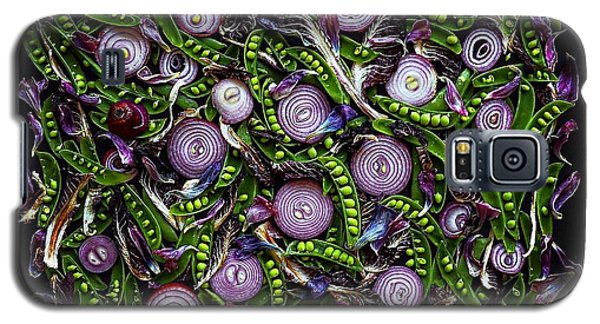 Sugar Snap Peas And Red Onion Mix Galaxy S5 Case
