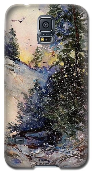 Galaxy S5 Case featuring the painting Sugarpines by Helen Harris