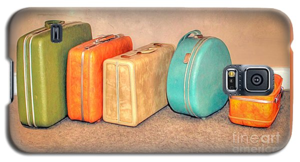 Suitcases Galaxy S5 Case by Marion Johnson