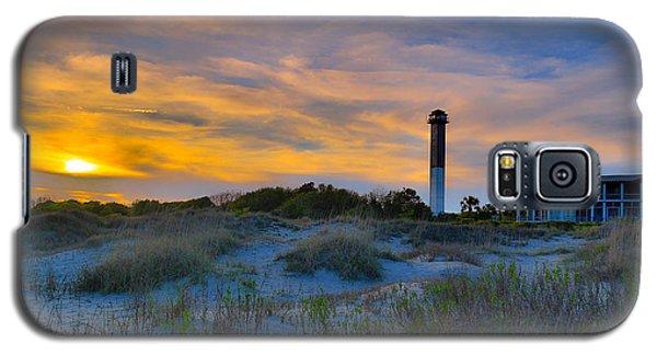 Sullivan's Island Lighthouse At Dusk - Sullivan's Island Sc Galaxy S5 Case